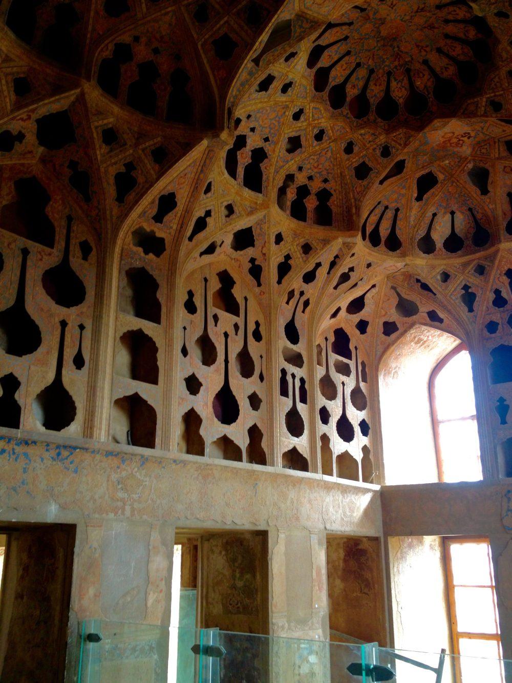 Ali Kapu Sarayı, İsfahan seyahati
