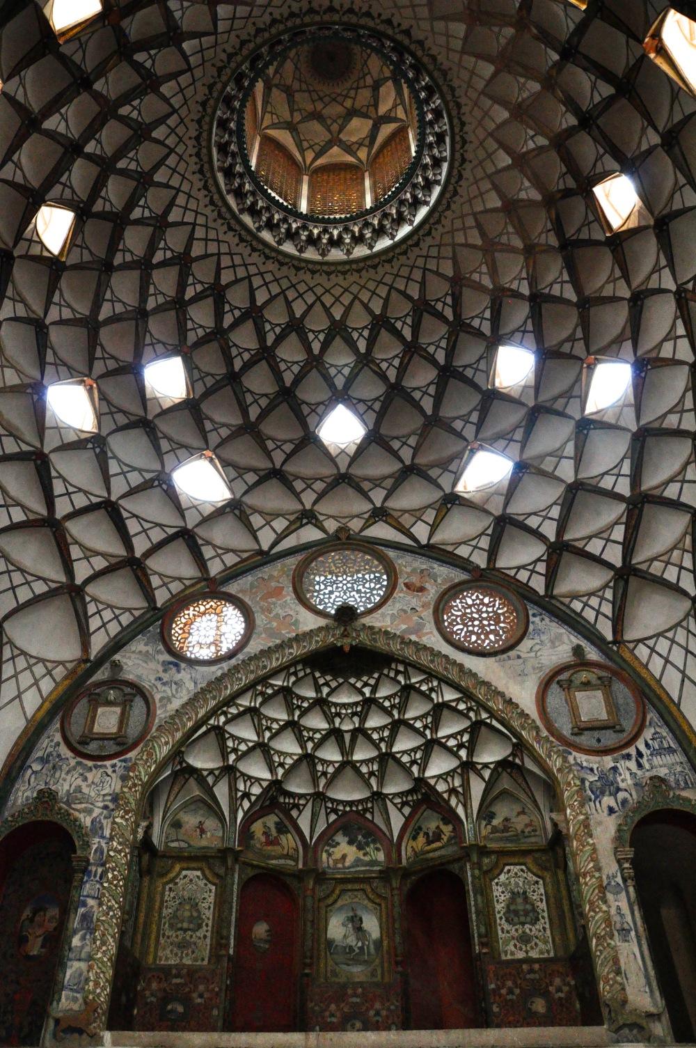 ceiling-boroujerdi-house-kashan-iran