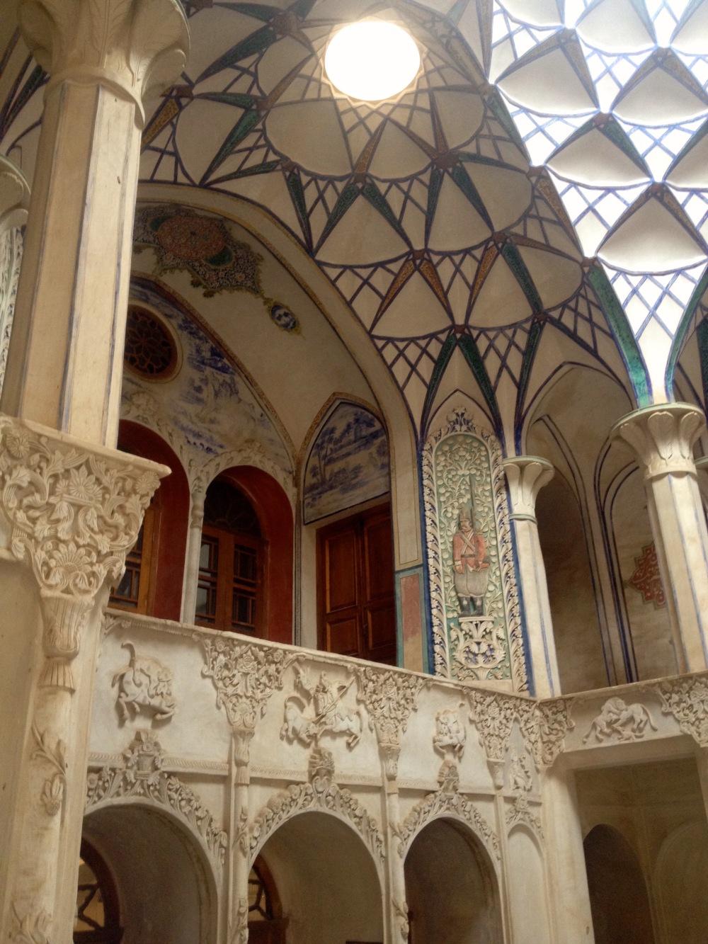 boroujerdi-house-interior-kashan-iran