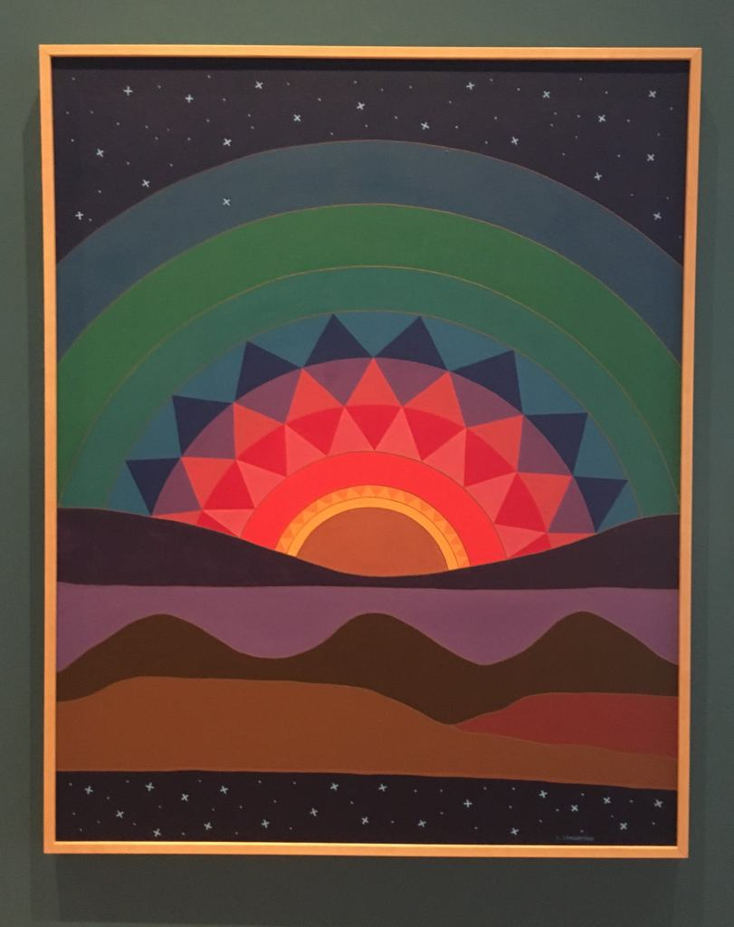 Linda-Lomahaftewa-New-Mexico-Sunset-heard museum