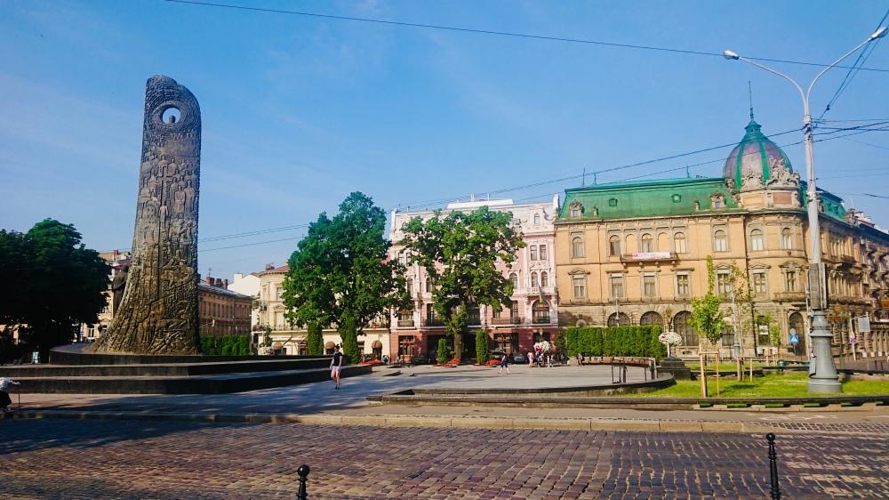 #lviv #svobody #square #meydan