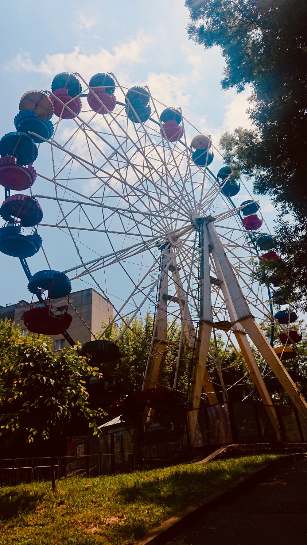 #lviv #Stryiskyipark #dönmedolap #lunapark