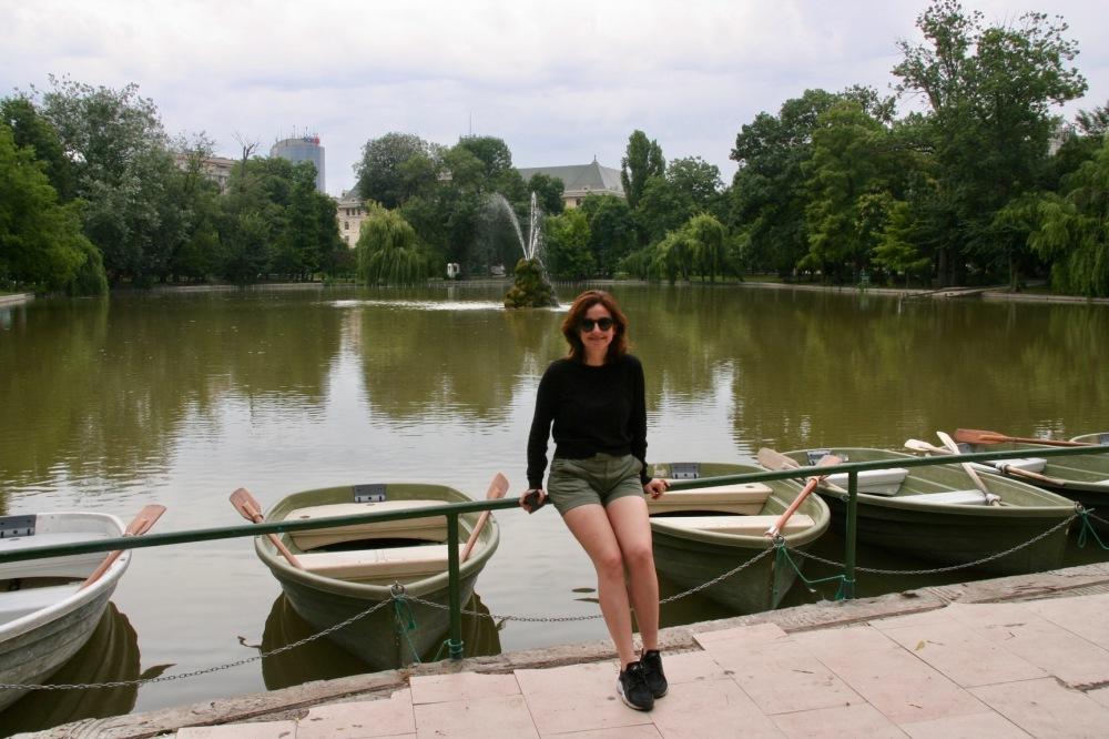 #pond #gölet #bucharest #bükreş #cismigiupark