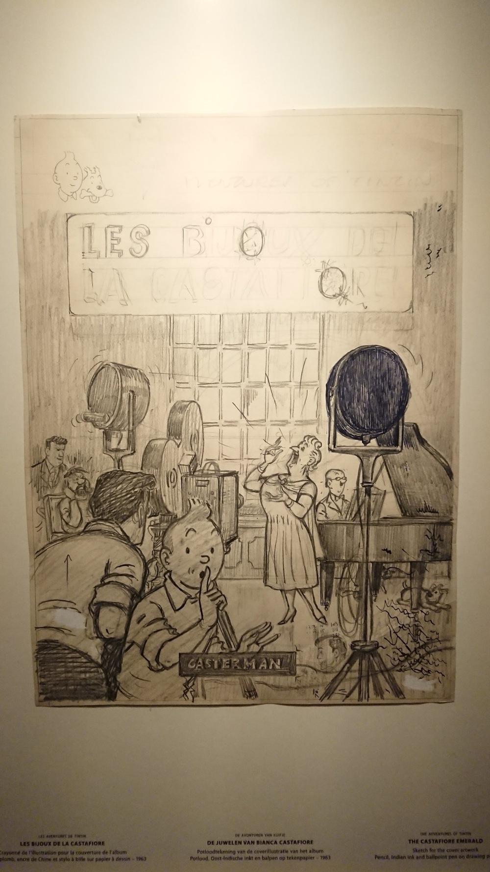 #tenten #tintin #herge #belçika #belgium #hergemuseum #kastafioreninmücevherleri #LesBijouxdelaCastafiore #biancacastafiore