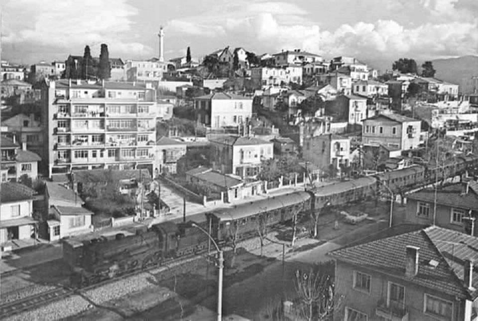 Bayraklı İzmir 1970ler